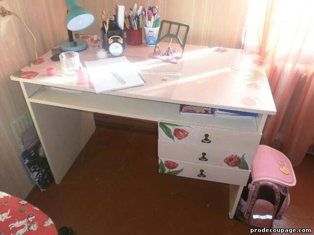 Обновить письменный стол своими руками